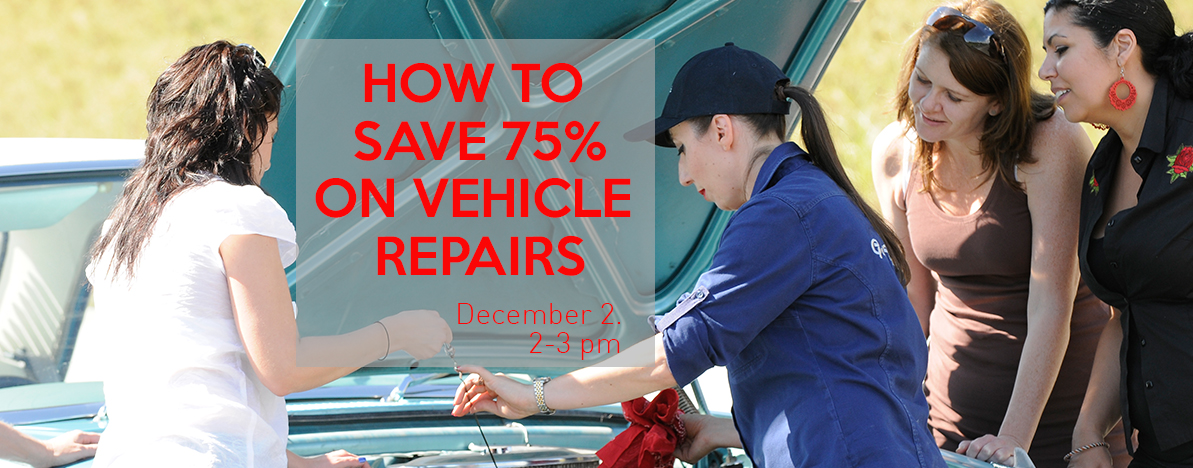 How to Save 75% on Car Repairs