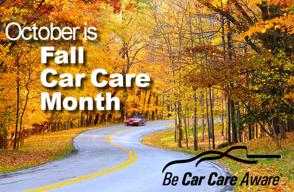 Car Care Month - October