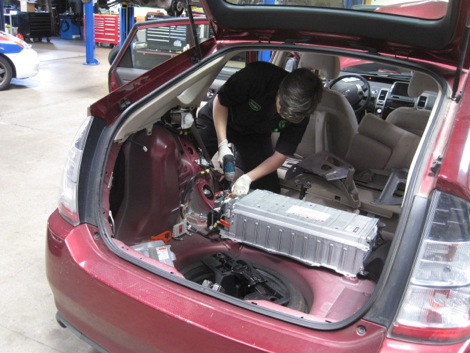 Hy Toyota Prius Hybrid Battery Replacement