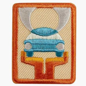 Girl Scout - Girl Guide Car Care Badge